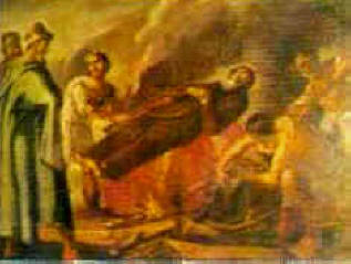 Martirio postumo di San Francesco
